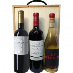 Estuche tres vinos Cuéllar...
